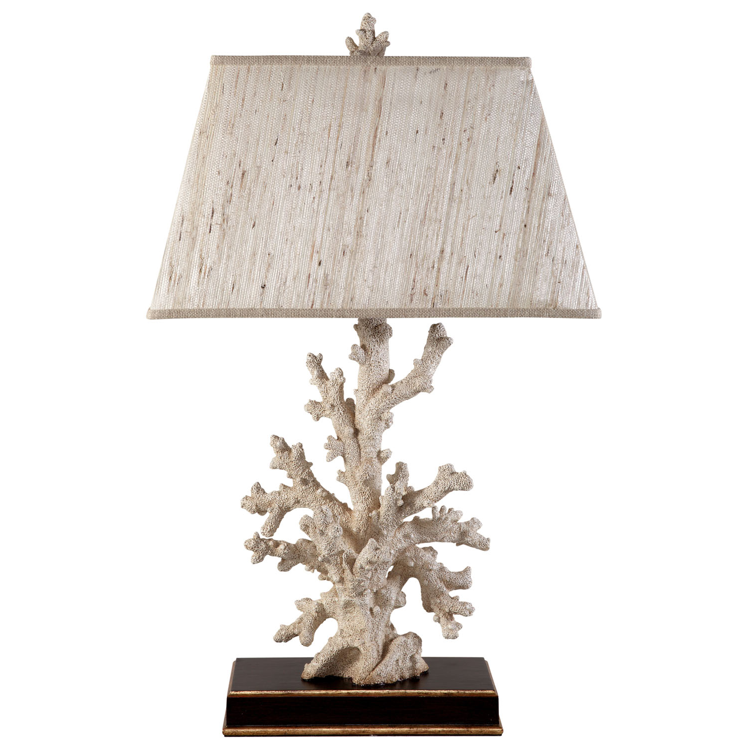 Delightful Caribbean Coral Table Lamp