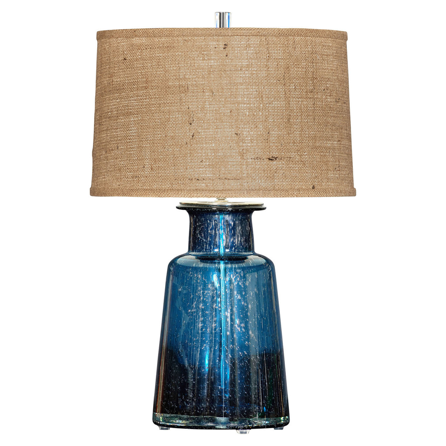 Captivating Laguna Blue Table Lamp