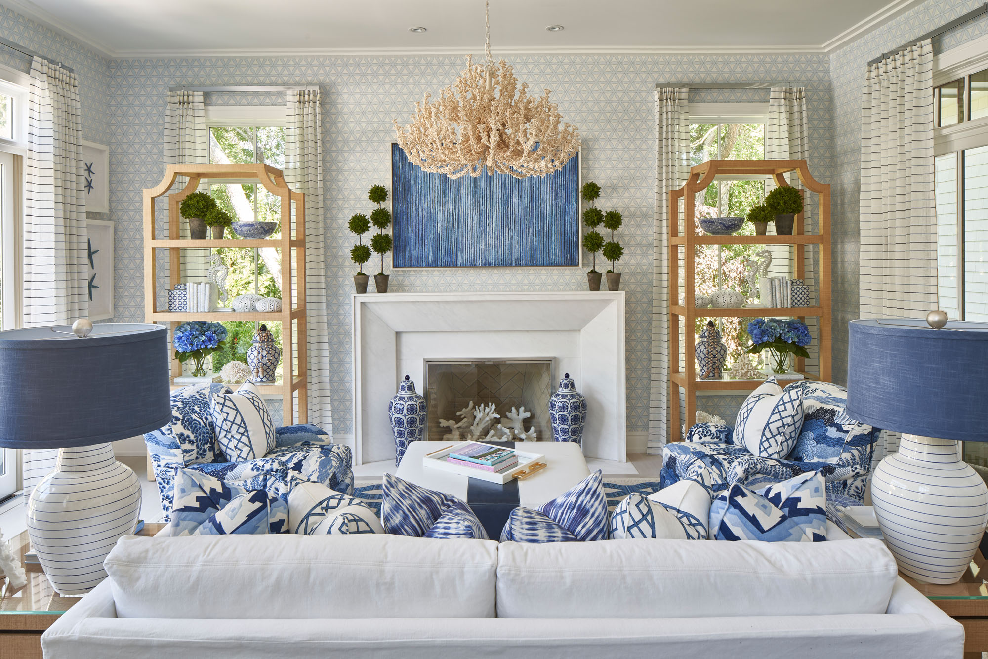My Life in Blue & White   Barclay Butera Interiors
